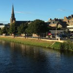 River Ness, walking distance from Dionard House.