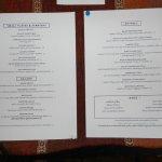 Dinner menu for 9/27/16.