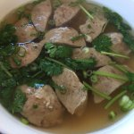 Beef Ball Soup 100116