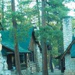 Historic cabins near the rim are wonderful.