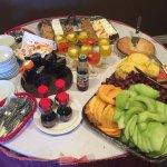 Sunday Brunch fruit table (October)