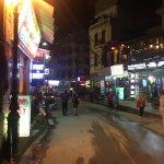 Streets of Sapa near Sunny Mountain