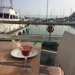 cocktail at the Marina