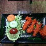Chicken Pakora  Chicken Balti & Chicken Sagwala  Really nice 👍