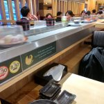 Sushi on the conveyor