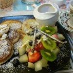 Mumm, les pancakes, ne ratez pas ça si vous logez au Ben View Guest house.