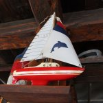Nautical decors ties to local lore at Henry's in Midland, Ontario.