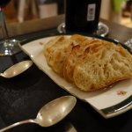 I loved the repurposed china plate as a bread plate...