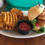 Okra's Shrimp Poboy