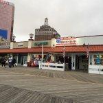 Atlantic City Boardwalk Foto
