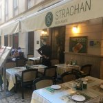 Strachan out door seating