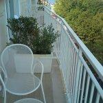 Rm 405 balcony Hotel Plaza looking towards sea