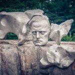 Denkmal des finn. Komponisten Sibelius