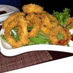 Calamari - simply and perfectly prepared! Wonderful!
