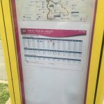 Bus timetable to the centre of Val D'Europe