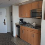 Our one bedroom suite with kitchen