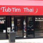 Front & entrance to Tub Tim Thai Restaurant