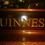 Das beruehmte Guinness Thekenportal.