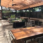 Covered patio, private dining room, weekly specials!