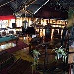 Communal breakfast/bar area