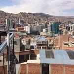 View from top floor area