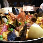 A poor picture of a fantastic paella !! It was excellent !!