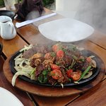 Sizzling shaking beef. Great!