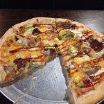 BBQ Beef Brisket Pizza