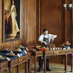 Queen Mary Room with Food Stations