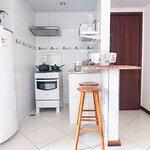 Flat com cozinha