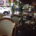 outside patio dining