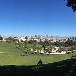 View of the city from Delores Park