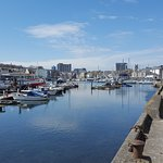 Sutton harbour. this spot is only 5 minutes walk from the hotel