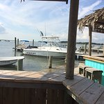Tiki Bars are the coolest places to watch the activity on the water and meet new friends.