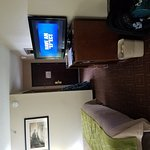 Room 212. Noisy, because it is located directly above two sets of automatic doors. It is also ac