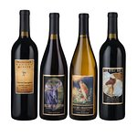 A number of interesting varietals available for tasting