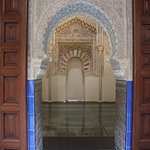 Nearby, The very first Madrasa...a slice of the Alhambra, downtown