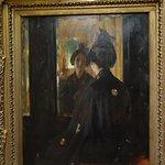 William Merritt Chase, The Mirror