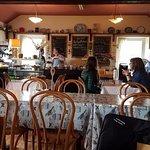 Red Door Tea Room - interior