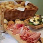 Buffet lunch at Fountains Restaurant, Box Hill