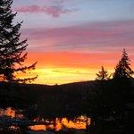 Sunrise, though no way guaranteed unless you are awake!