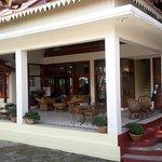 The restaurant facade