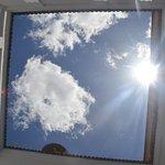 Ciel vu du patio