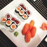 Assortiments de makis et sushis