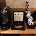 Kaffee- und Tee-Station im Zimmer