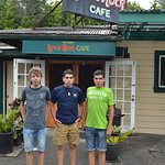 Photo de Volcano's Lava Rock Cafe
