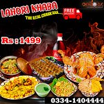 Best Food Deal In Lahore For Delivery ! By Options Restaurant