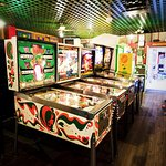 Have you been to the arcade just up the street?  Open since the 50's! Really fun.