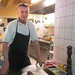 Chef Miro Kubik in his Kingdom