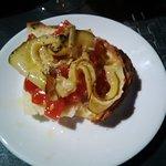 bruschetta con pomodorini e zucchine